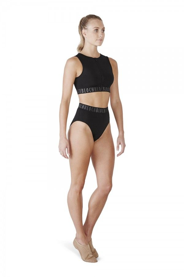Bloch High Waisted Dance and Gym Brief 'Teigan'
