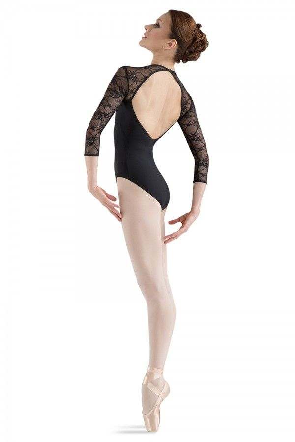 Bloch L6016 Kate Lace Long Sleeve Leotard