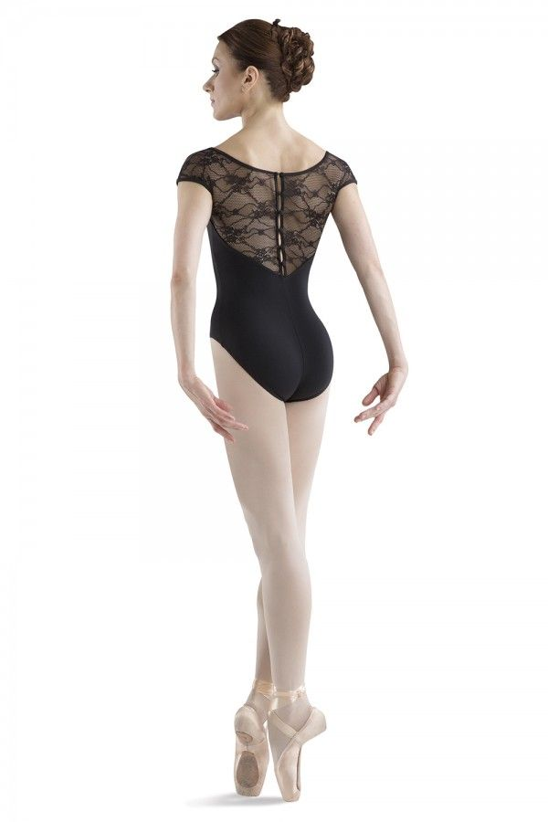 Bloch L6042 Chiwa Cap Sleeve Button Back Leotard