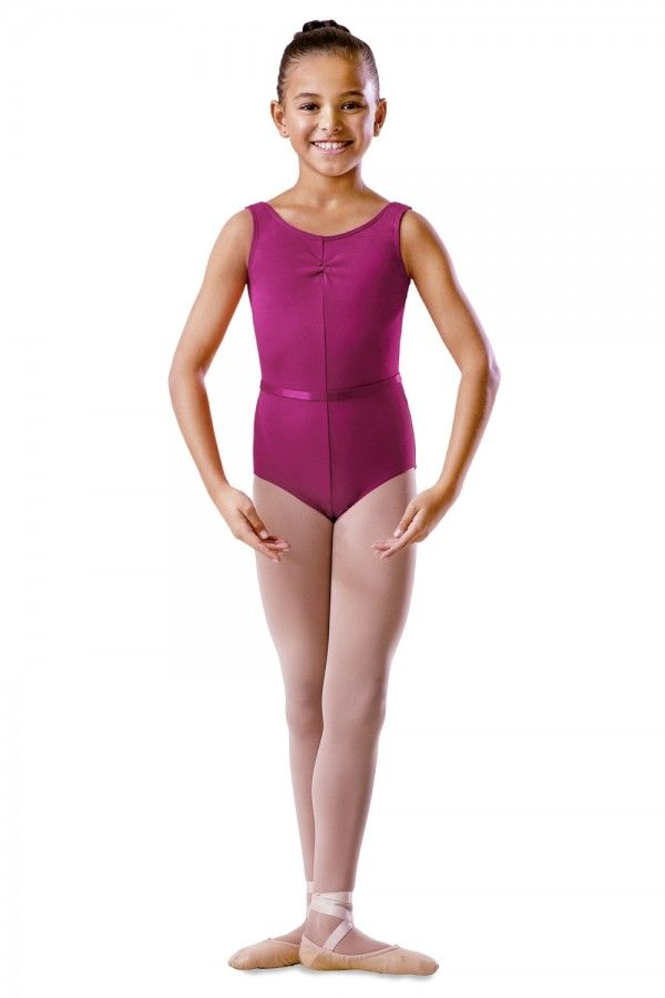 Bloch Tank Style Ballet Leotard with Ruche BU102