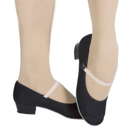 Capezio Academy 457 Canvas Character/Syllabus Shoe Low Heel