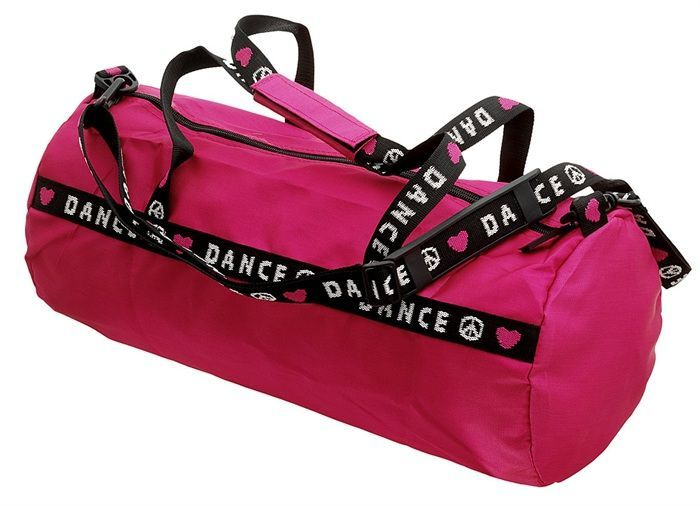 Capezio Dance Duffle Bag B81 Pink and Black