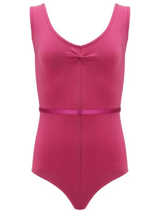 Freed 'Faith' Sleeveless Leotard - RAD Approved Mulberry