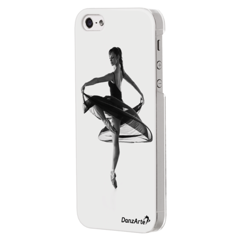 iPhone 5/5S Transparent Turning Pointe Case