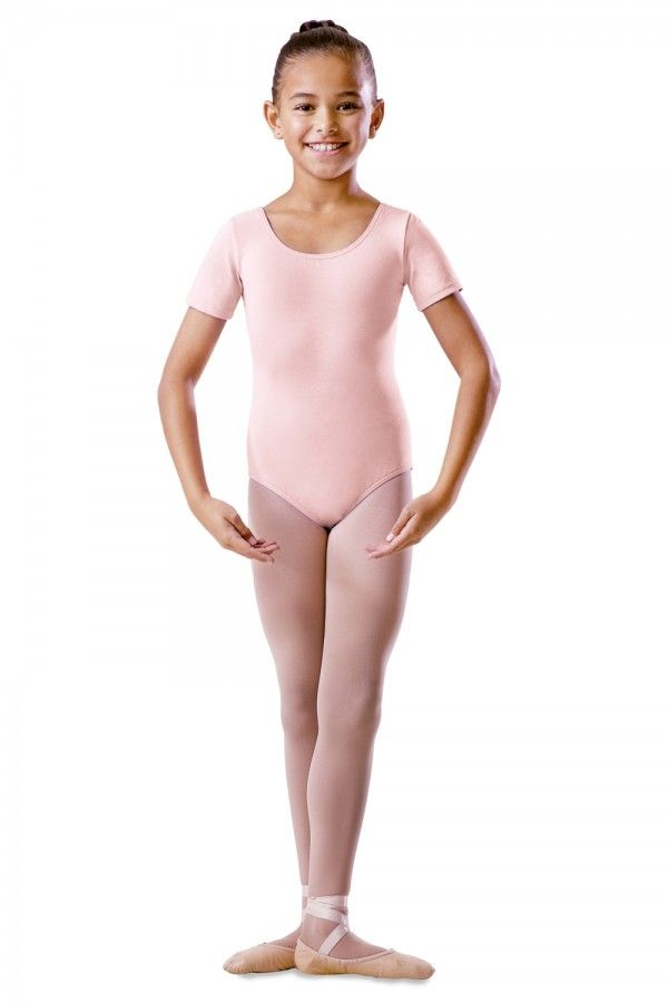 Pink Short Sleeve Leotard RAD  Pre Primary Primary Tappers and Pointers