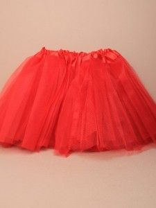 Molly & Rose Red Tutu Skirt