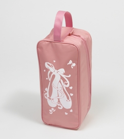 f9598b58ca14 Pink Ballet Shoe Bag from A Dancers World Northampton