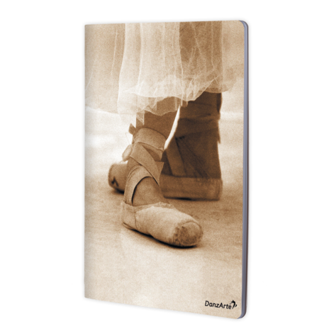 Pointe Shoes A4 Notebook