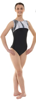 Tappers & Pointers Gym 4 Leotard in Black
