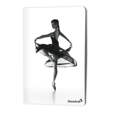 Turning Pointe Shoes A5 Notebook