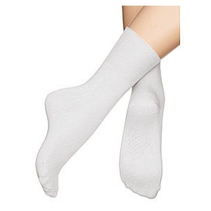 White Dance Socks