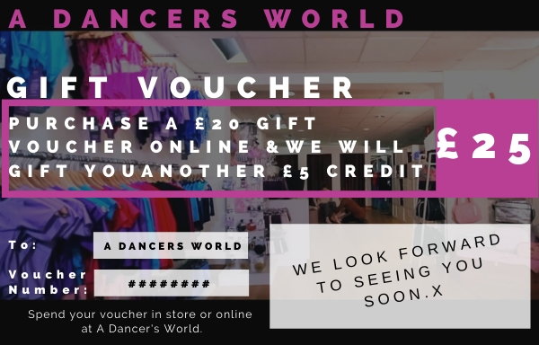 Gifted £5 on purchases of £20 voucher
